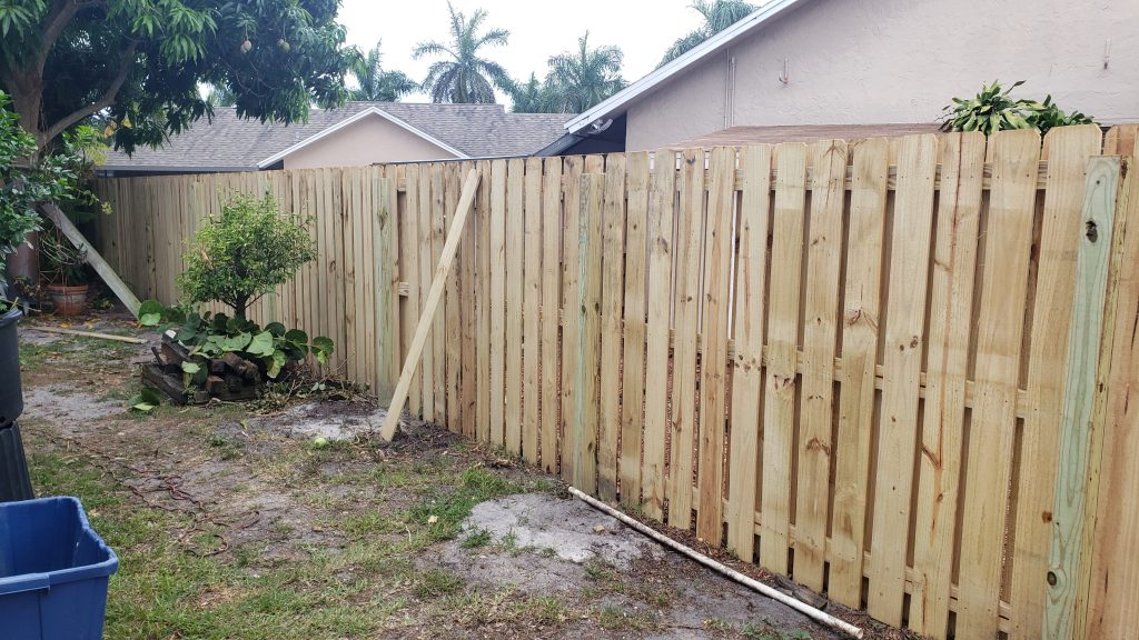 High – Quality Residential Fence in Lubbock