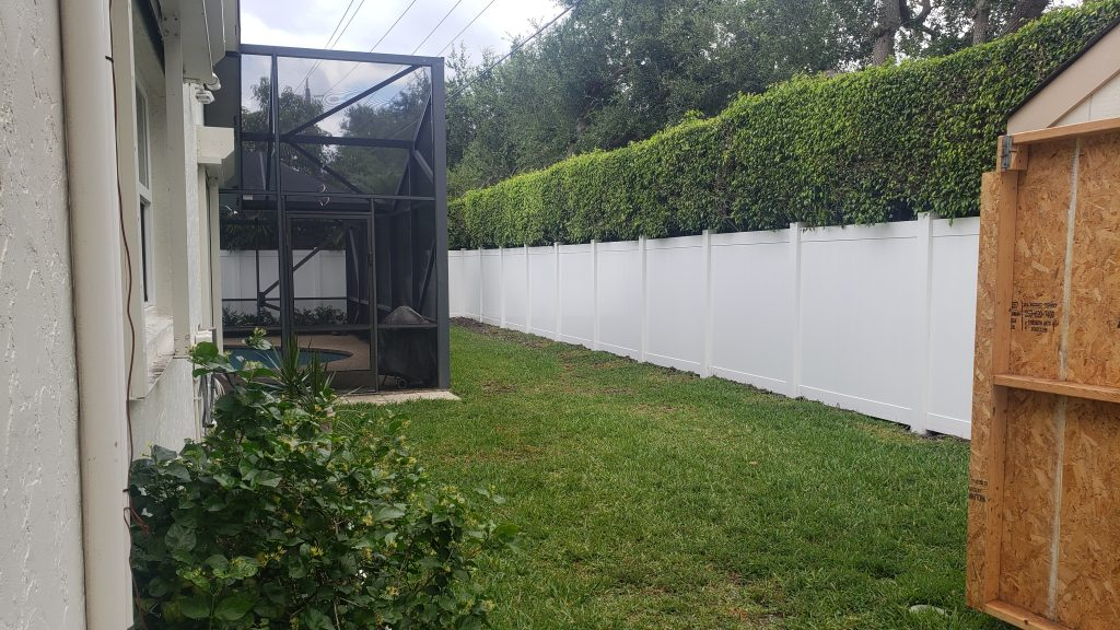 Aluminum Fence Installation in Lubbock, Texas